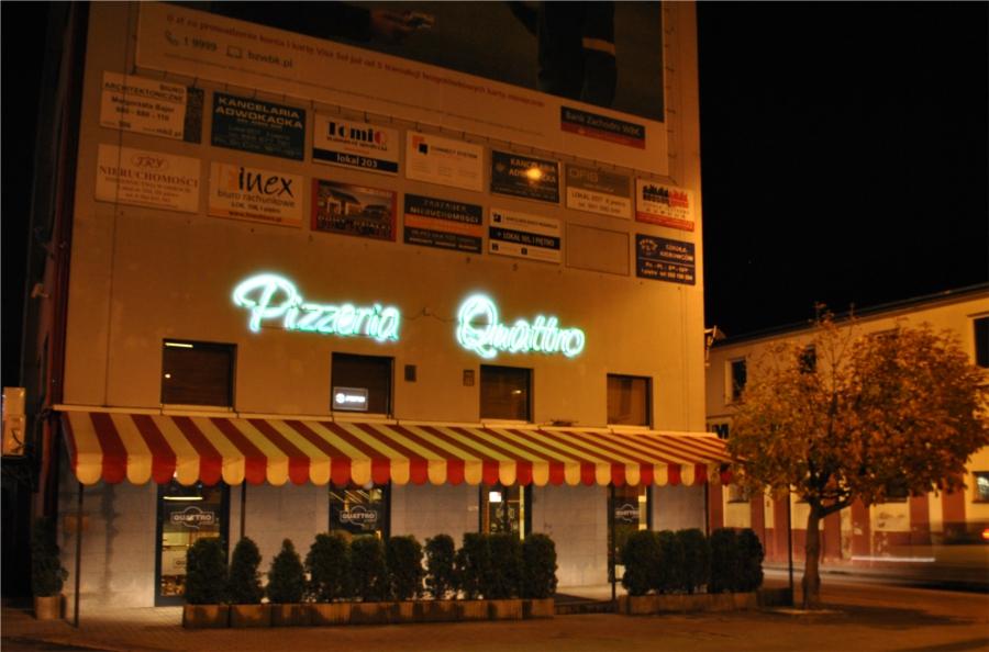 pizzeria quattro lokal grobelna