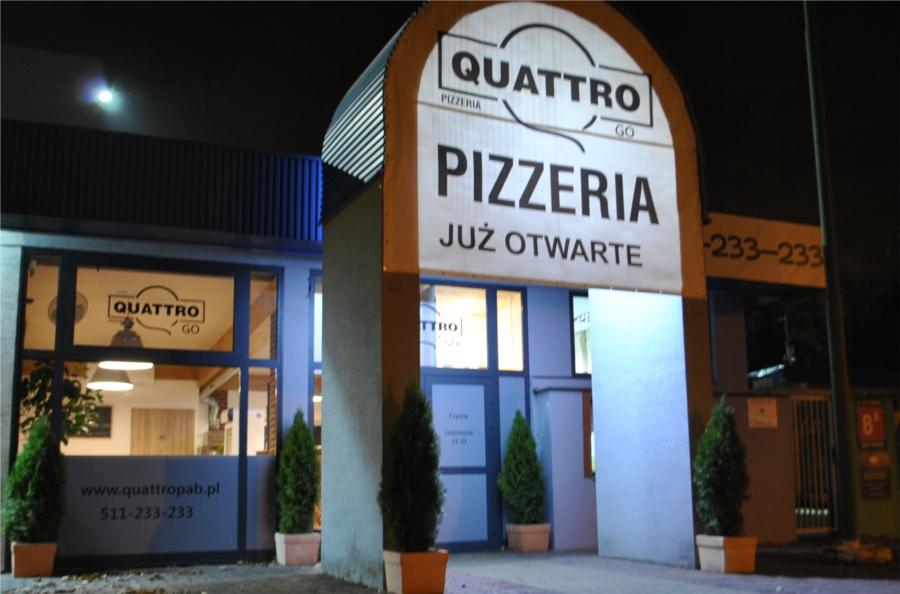 pizzeria quattro grota lokal roweckiego